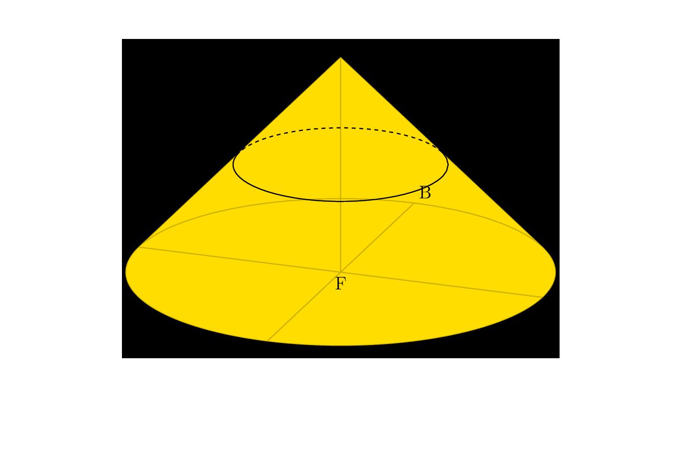 用 TiKZ 绘制空间几何的图形