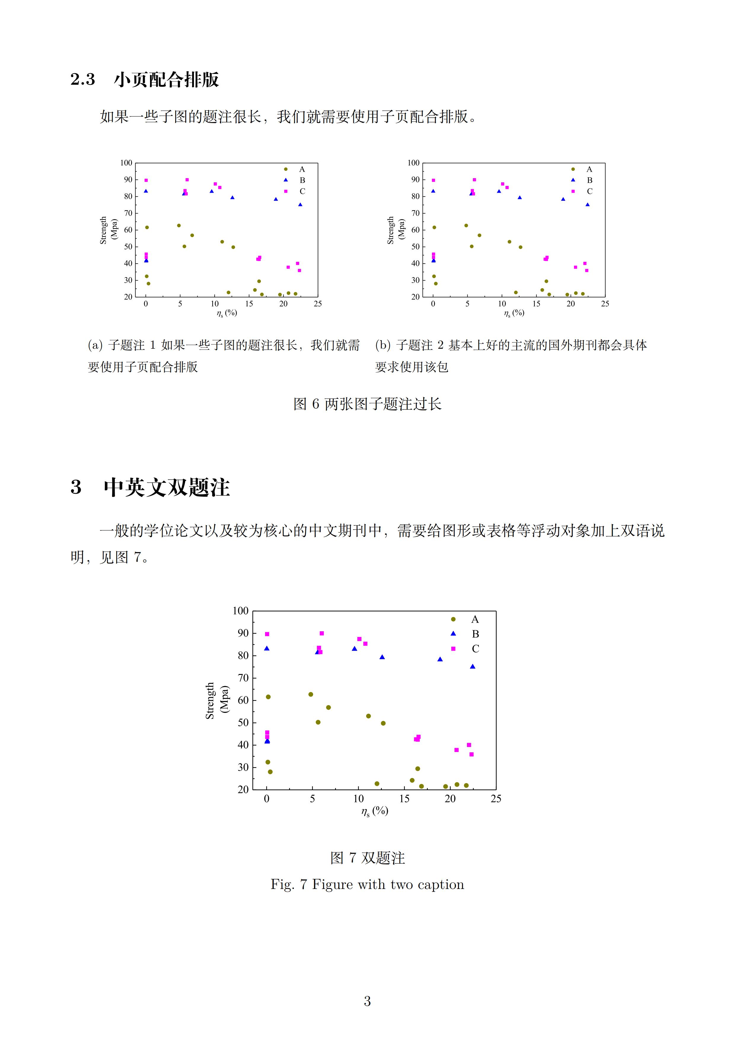 LaTeX排版图与子图示例(含子题注与中英文双题注示例)