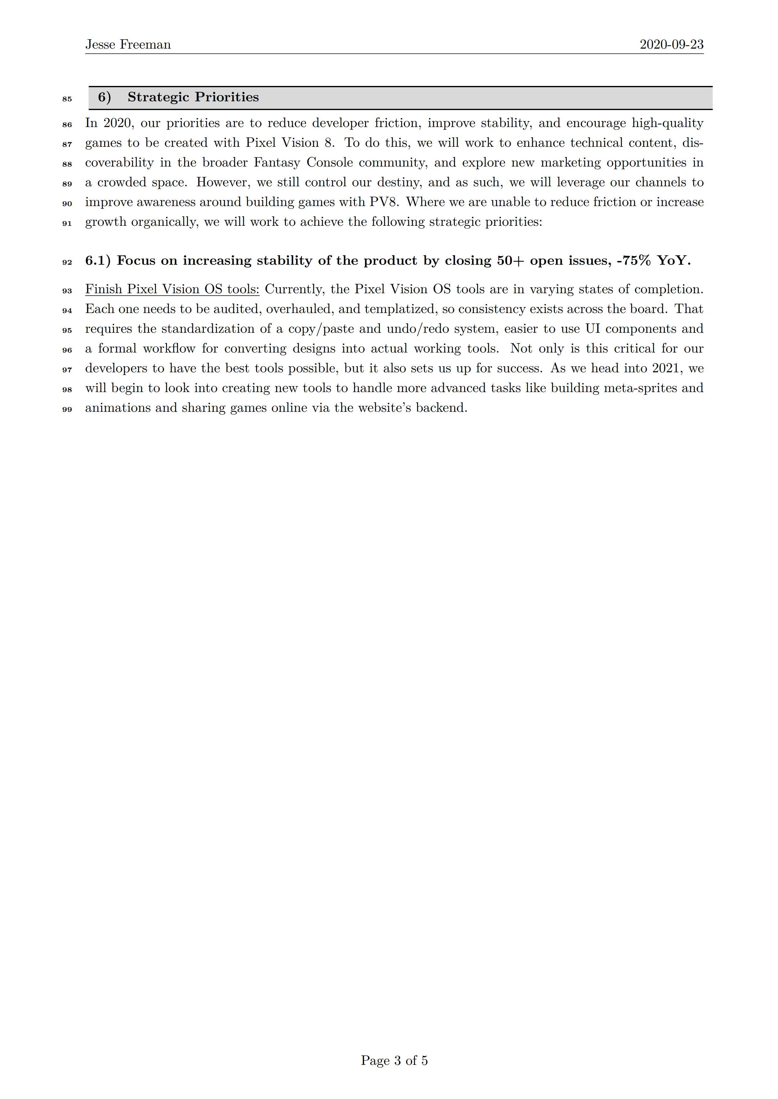 亚马逊6页汇报法模板