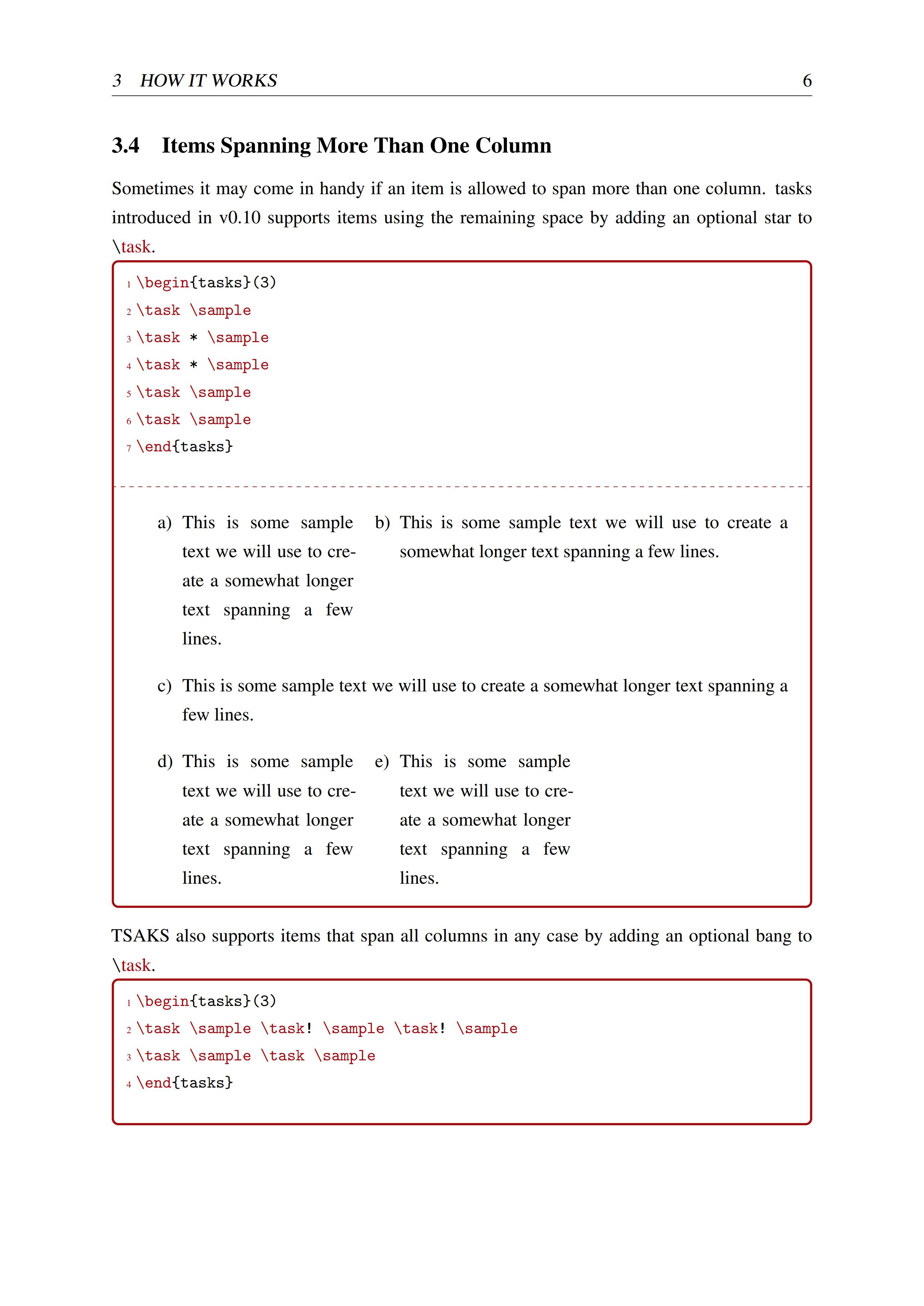 tasks 宏包學習手冊(English Version)