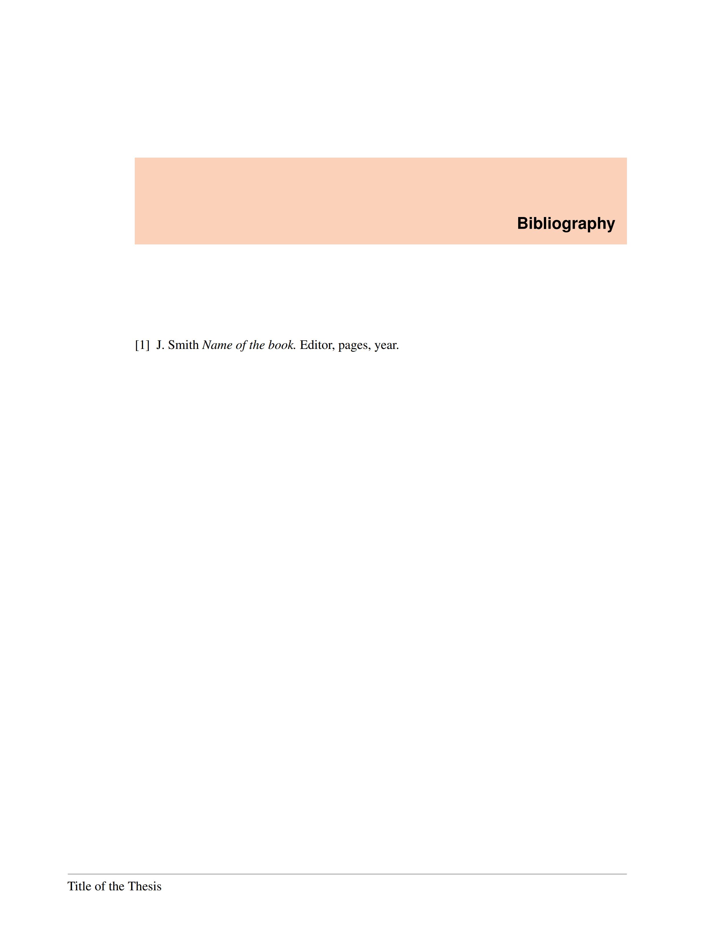一个用户自制的毕业论文模板