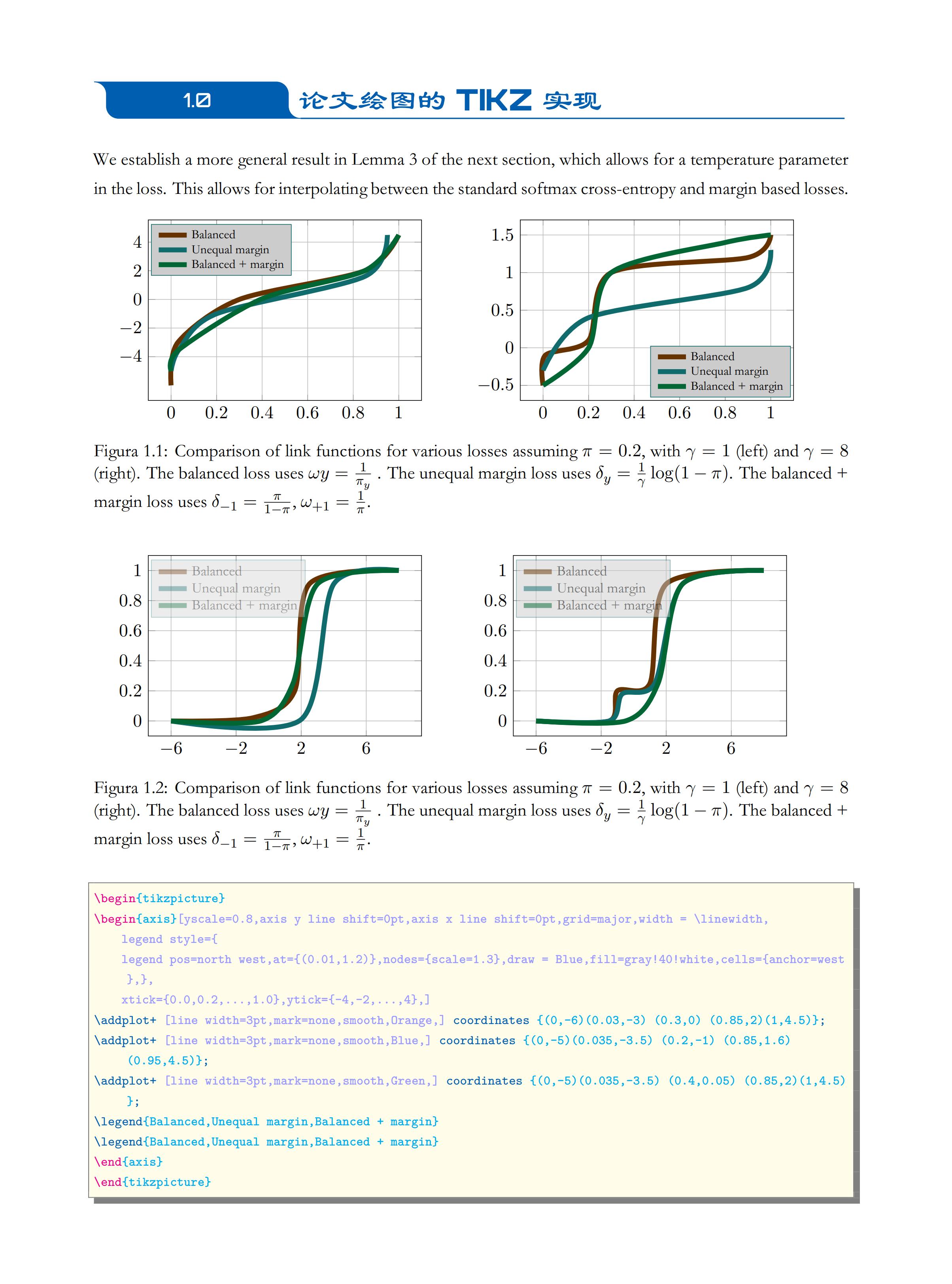 一篇学术科研论文绘图的 LaTeX 代码实现