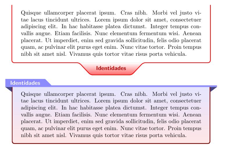 tcolorbox 的简单定制样式样例