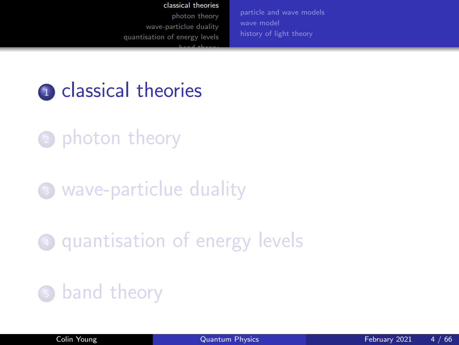 量子物理课堂教学beamer