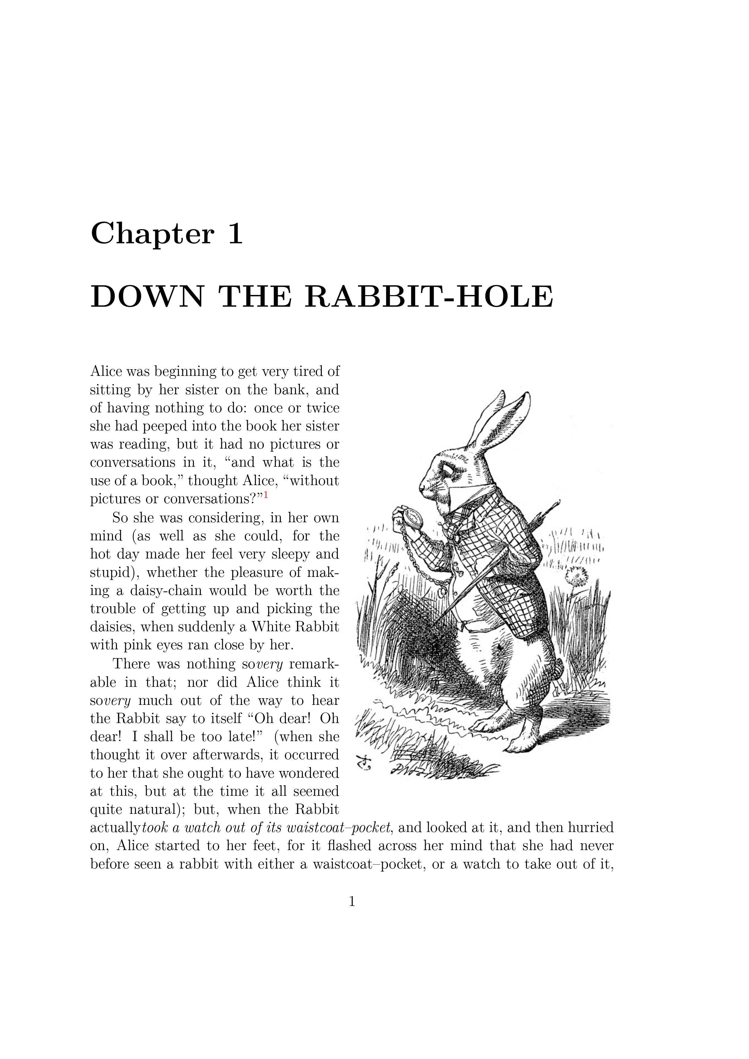 《爱丽丝梦游仙境》Alice's Adventures in Wonderland