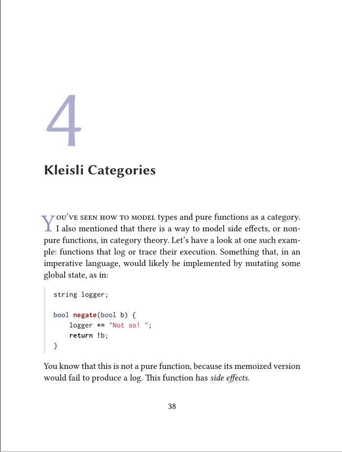 Category Theory for Programmers 书籍latex排版