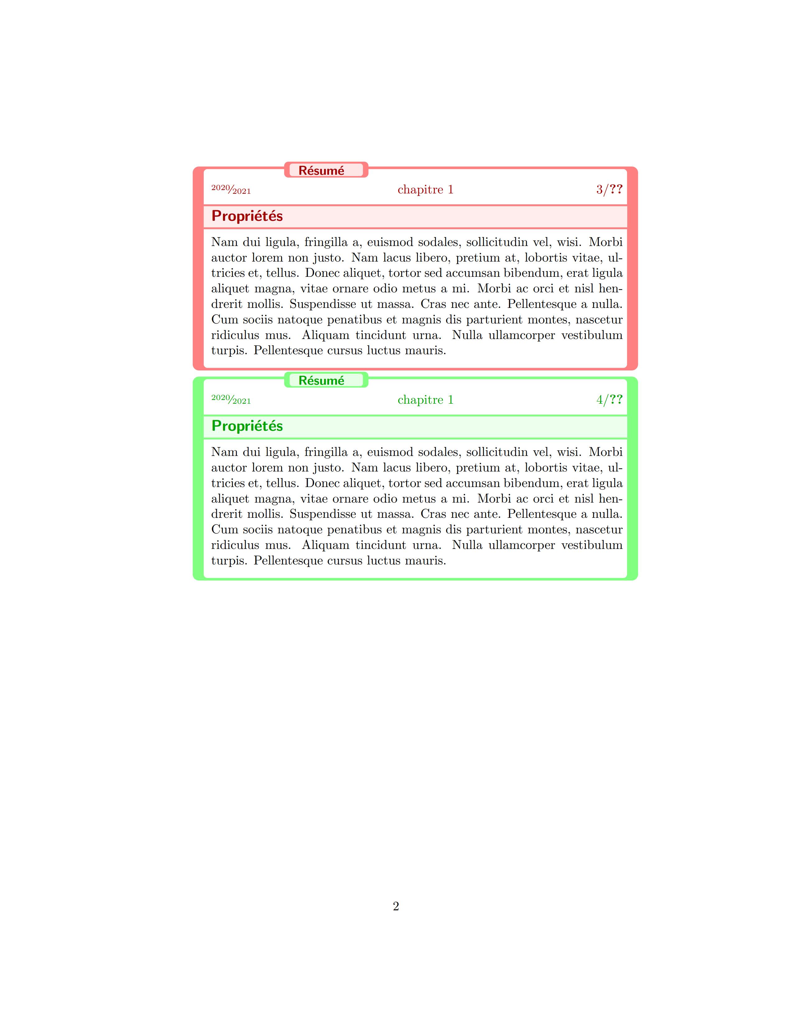 tcolorbox 定制定理定义样式美不美
