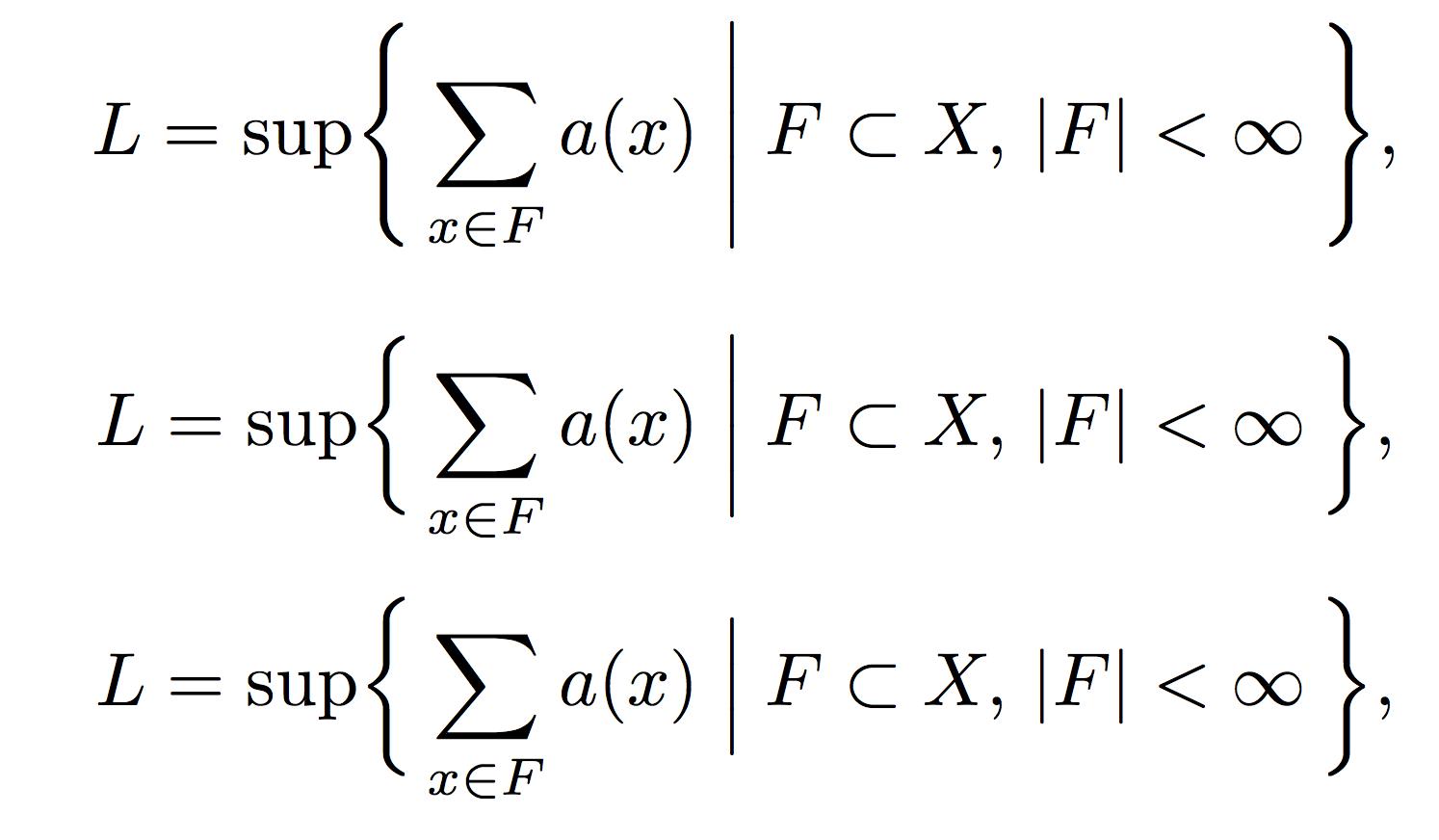 公式排版中竖线的自动化长度选择