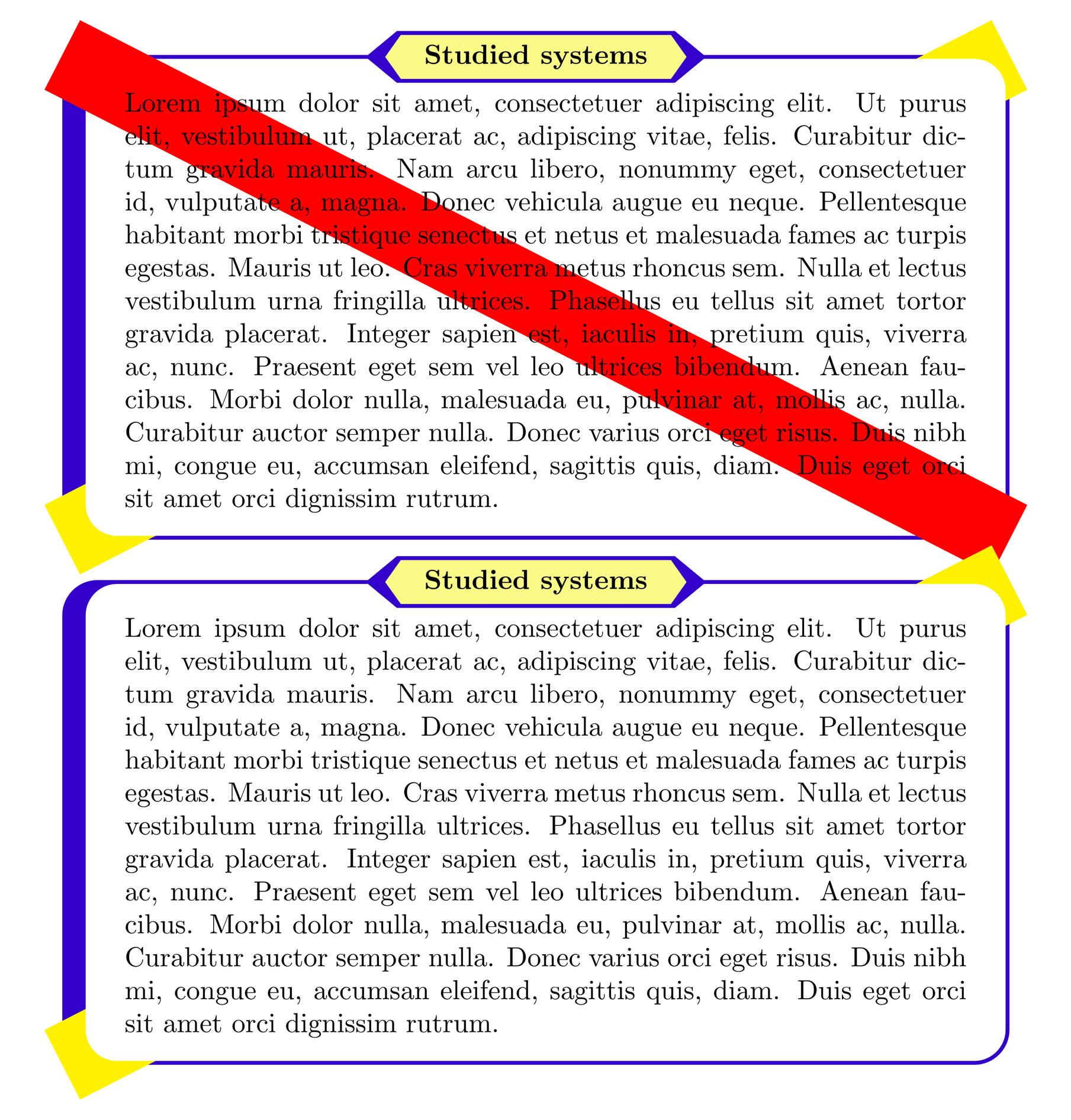 tcolorbox 的一个文本框定制样例