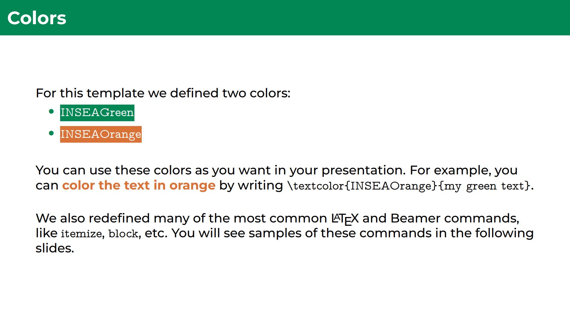 一个专为学生定制的 beamer 主题样式
