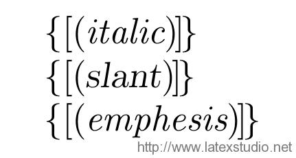 LaTeX技巧902:使斜体中的括号保持直立- LaTeX科技排版工作室